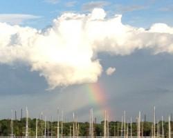 Unlocked down - sun-downer time - Lake Grapevine, TX - May 2020