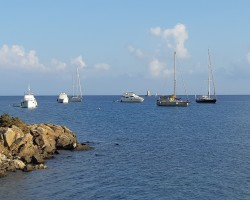 Sardinia, August 2020, on a mooring