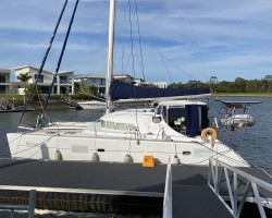 Panormitis at Home (near Jacobs Well) She is an older model but has been re-fitted and upgraded for Cruising