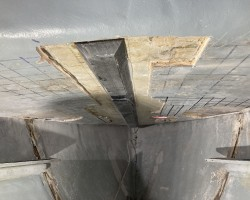 Coosa B26 replaces delaminated and rotted ply