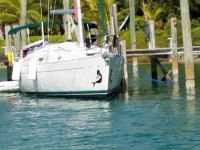 Sailing Central America/ Belize waters