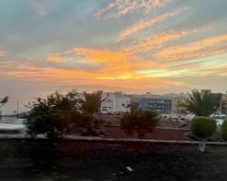 Sunset in Adeje Tenerife.