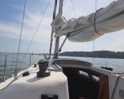 Sailing on Solent