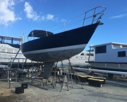 My boat, building the dream.