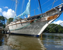1983 Transworld 41-foot beautiful blue water cruiser for sale