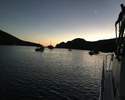 Gorgeous evening at Cat Harbor