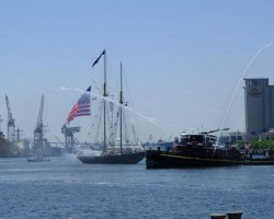 The pilot schooner VIRGINIA at OpSail 2012 Norfolk, where I crewed/lived aboard for 6 days/nights with delight!