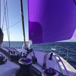 Sailing from St Martin to New York