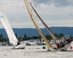 Racing on the Columbia River