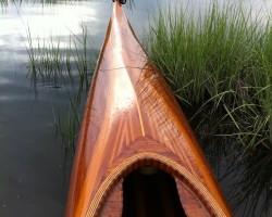 Wooden kayak that I built