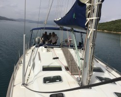 Beneteau Oceania 47 - can sleep 10 but 4 to 6 max is what we enjoy the most