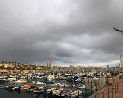 Greece - Florida delivery trip. Las Palmas, just befor Atlantic crossing...