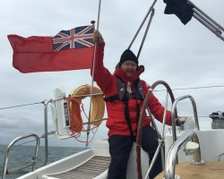 Exhilarating Sailing on Port tack