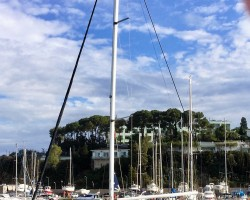 Outbound from Kusadasi  Turkey for summer sailing season