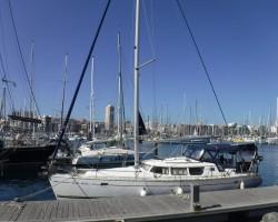 Tenerife Canary Island receiving dock