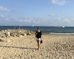 A nice stroll on my local beach