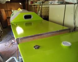 My catamaran building project.