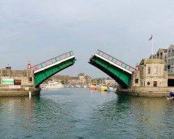 Weymouth lifting bridge