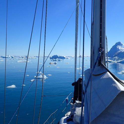 Sailing the unknown on the East Greenlandic Coast
