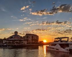 Sunset Shelter Cove Marina