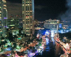 Fort Lauderdale Winter Fest Boat Parade, one of three