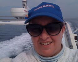 October 2013: My last long distance commercial yacht delivery as First Mate. Palma Majorca - Gibraltar. Delivery of speed boat, 24 hour passage, only stopping to top up diesel, equal share on the helm, 4 hours on 4 hours off. Magnificent!