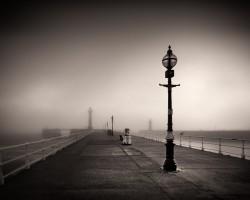 Whitby Pier England.