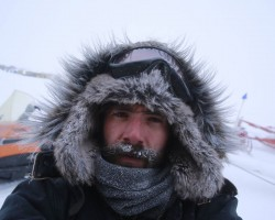 Working at the South Pole, November 2018