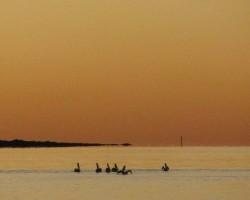 Big Woody island Sunset.