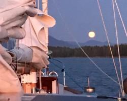 Moonrise on the Central Coast, British Columbia
