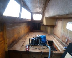 A new beginning - starboard aft berth (one day!)